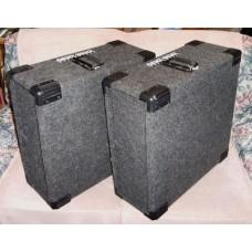 Genz Benz ECR-4 Extended Rack Cases (Matched Set)